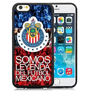 Unique DIY Designed Case For iPhone 6 4.7 Inch TPU With Soccer Club Chivas 04 Football Logo Cell Phone Case