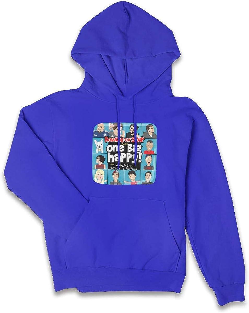 Wokeyia Top Black Hoodie Stylish Hood for Womens Bowling for Soup OBHCover Hoodies Sweatshirts