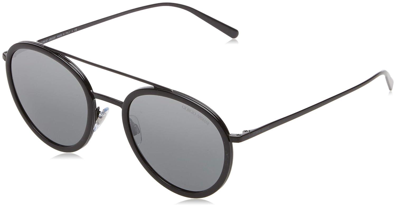 7aa08437f46 Sunglasses Giorgio Armani AR 6051 301488 BLACK at Amazon Men s Clothing  store
