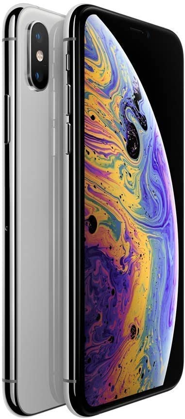 Apple iPhone XS, 64GB, Silver - For AT&T (Renewed)