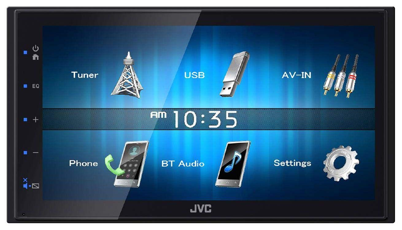 caraudio24 JVC KW-M24BT 2DIN Bluetooth MP3 AUX USB Autoradio f/ür Ford Cougar Fiesta Focus Galaxy Mondeo Puma