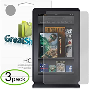 """Lot 50 LCD Clear Film Protector Guard Screen for Amazon Kindle Fire 7/"""""""