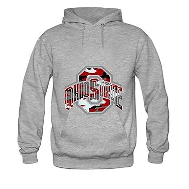 Amazon.com  Women s Sweatshirt Ohio State Hoodies XL Grey  Clothing 8df9ddd612