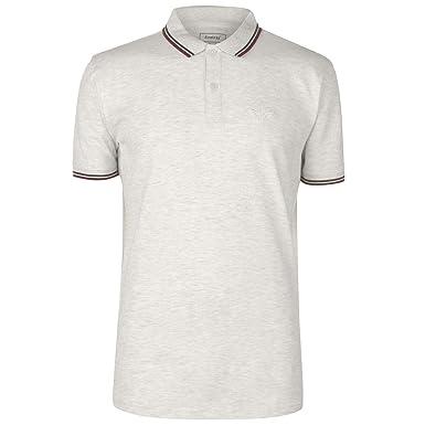 Firetrap Hombre Lazer Camiseta Polo Ceniza Marga XXL: Amazon.es ...