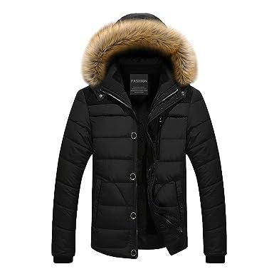 f9122081422 Modern Fantasy Mens Parka Coat Thicken Cotton Warm Puffer Jacket ...