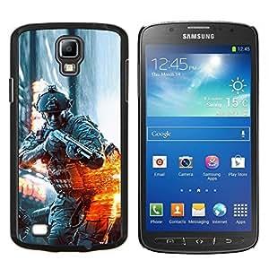 TECHCASE---Cubierta de la caja de protección para la piel dura ** Samsung Galaxy S4 Active i9295 ** --BATTLEFILD SOLDADO