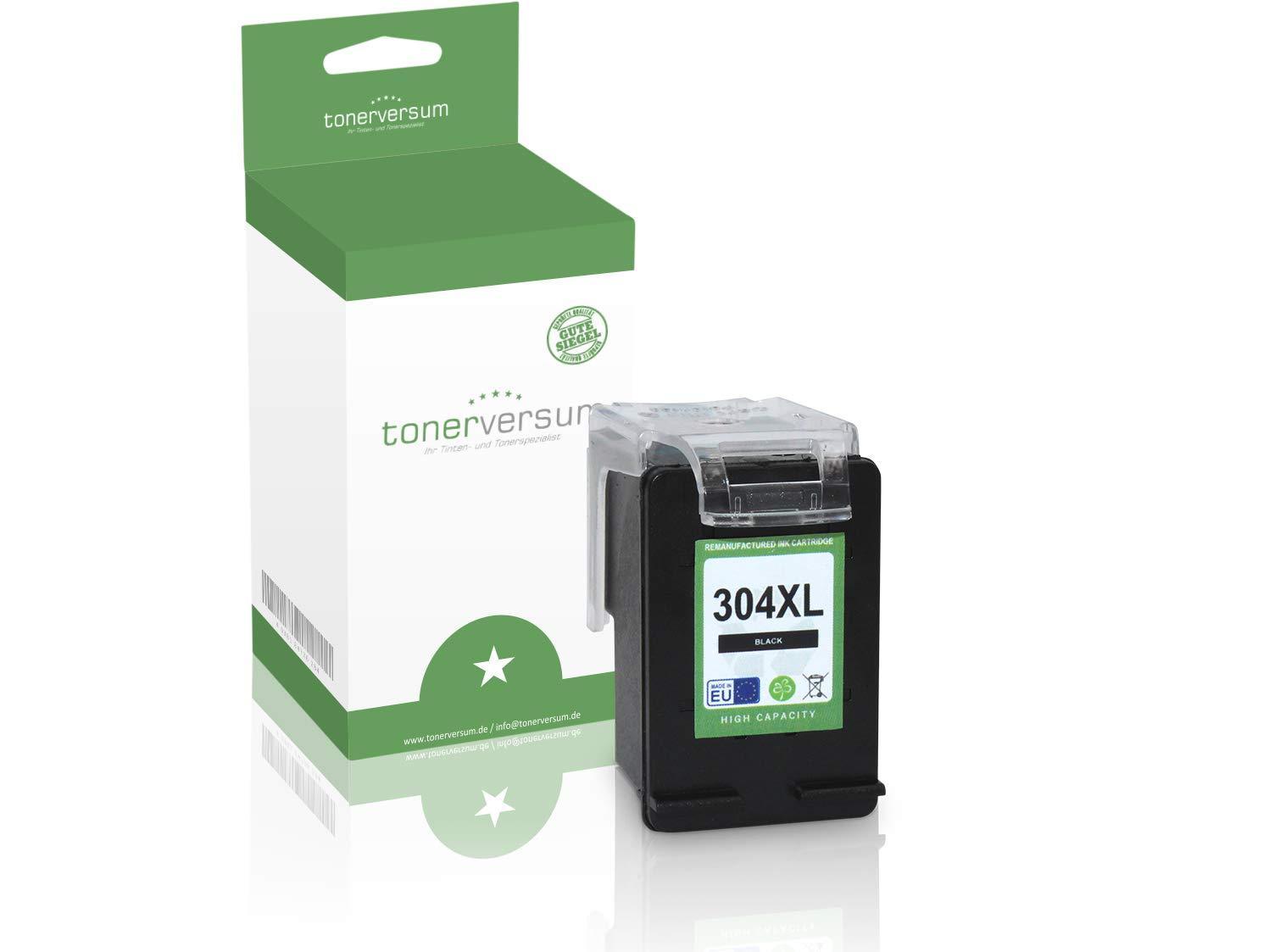 Cartucho de Tinta Compatible con HP 304XL N9K08AE Negro para ...