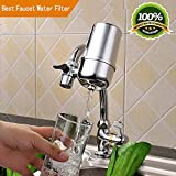water purifiers for home Tophatte Faucet Water Filter,Advanced Healthy Faucet Water Filter System,Drinking Water Filter,Water Purifier For Home Kitchen - Rustproof (Drinking Water Filter)