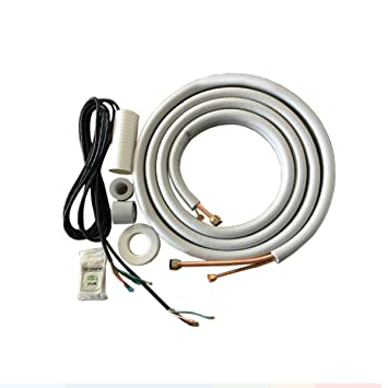 amazon com cooper and hunter 1 4 x 3 8 pre flared insulated rh amazon com  trane ductless mini split wiring