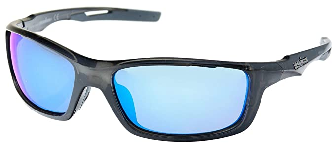 877f7786e7 Image Unavailable. Image not available for. Color  Iron Man Mens Ironflex  Wrap Sunglasses ...