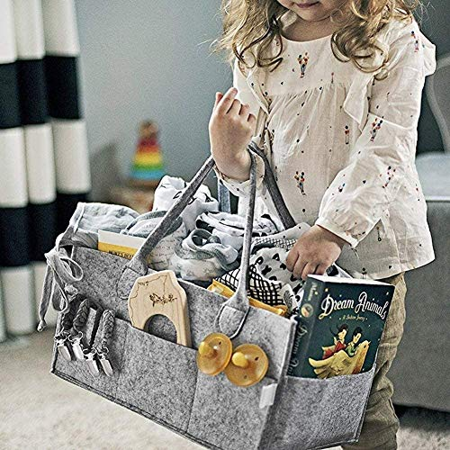 Mumoo Bear Other Baby Diaper Caddy Organizer Portable Large Diaper Caddy Tote Car Travel Bag        Amazon imported products in Lahore