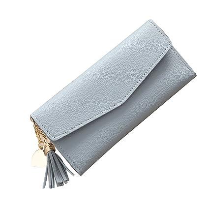 0fce6485d372 Amazon.com: Long Clutch Bags Wallet Coin Purse Card Holders Heart ...