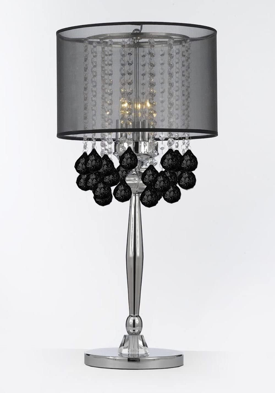 Modern Chrome Silver Gun Table Lamp Desk Light Working Study Lighting Bedside