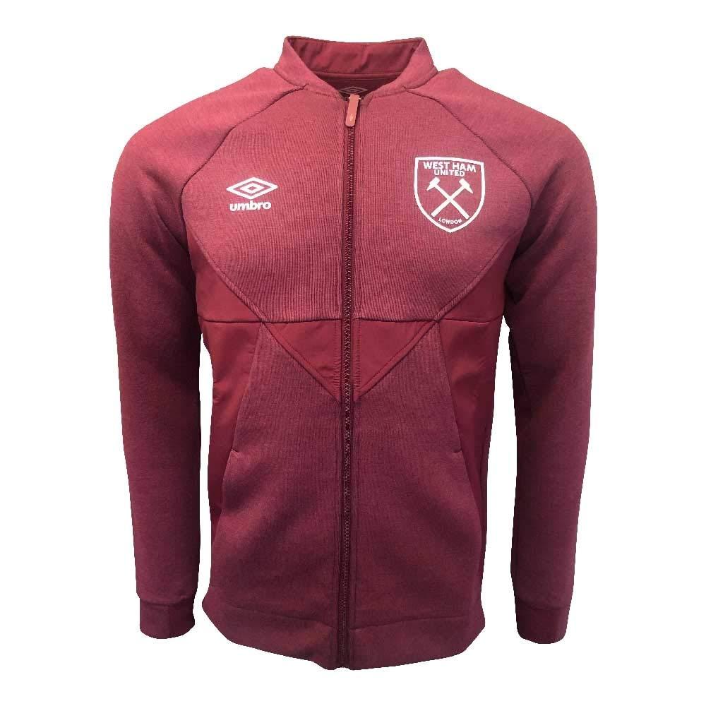 byom.it Umbro 2019-2020 West Ham Presentation Jacket New Claret ...