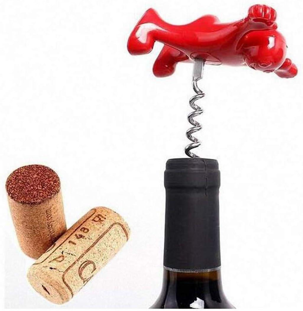 Black Wine Stopper Novelty and Wine Opener Set,Biluer Wine Bottle Stopper Corkscrew Beer Bottle Opener Bottle Opener for Naughty But Nice Happy Man Wine Bottle Stopper