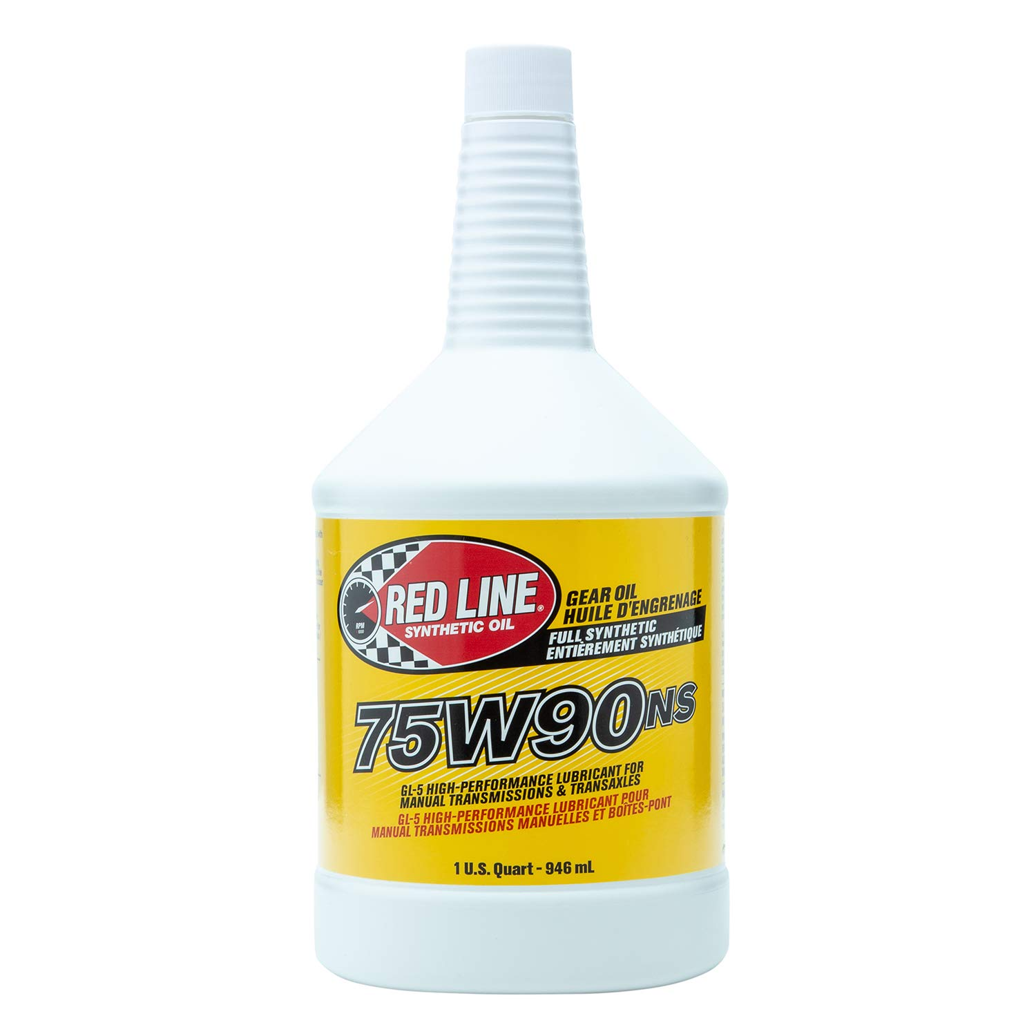 Red Line 58304 (75W90) Non-Limited Slip Synthetic Gear Oil - 1 Quart (Pack of 2)