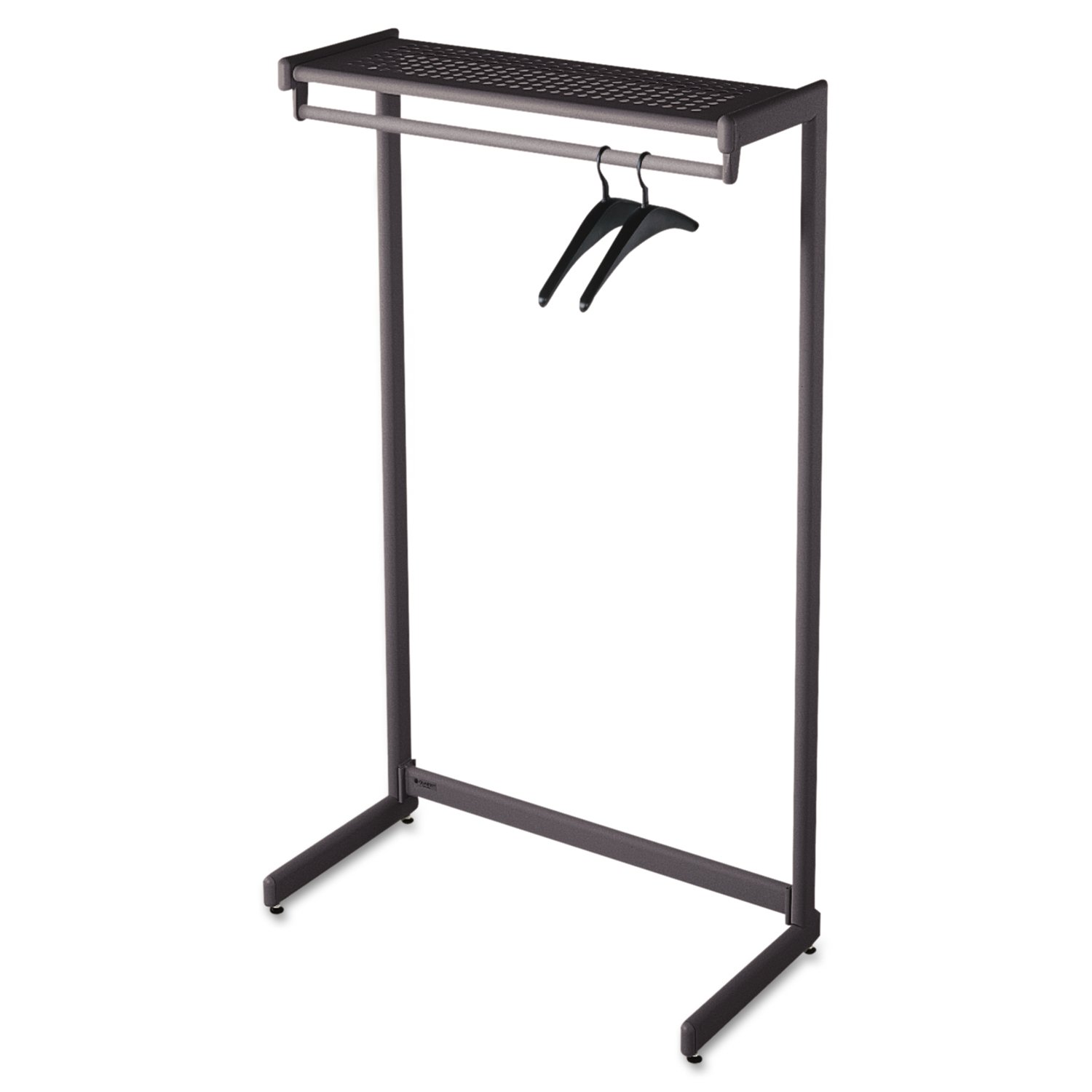 dwell coat loading tree stand walnut zoom standing rack free