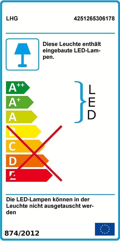 120 x 30cm B/ürolampe Tageslicht 4000 Kelvin LED Panel Deckenlampe flach Aufputz montagefertig Dimmer B/ürolampe neutralwei/ß 3600 Lumen Fernbedienung