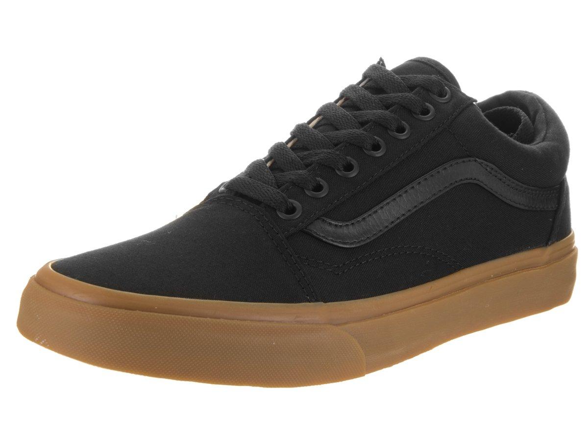 Vans Unisex Old Skool Classic Skate Shoes B01CRB62JW 6 M US Women / 4.5 M US Men|Black/Lghtgm