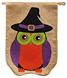 Evergreen Burlap Glitter Owl House Flag, 28 x 44 inches Review