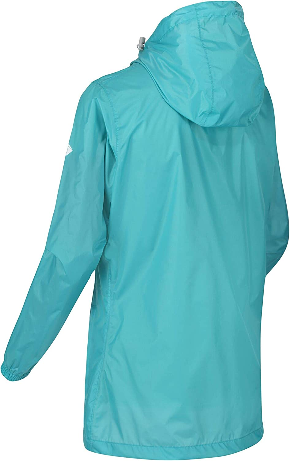 Regatta Women's Pack-it Iii' Breathable Taped Seams Packable Hooded Jackets Waterproof Shell Turquoise