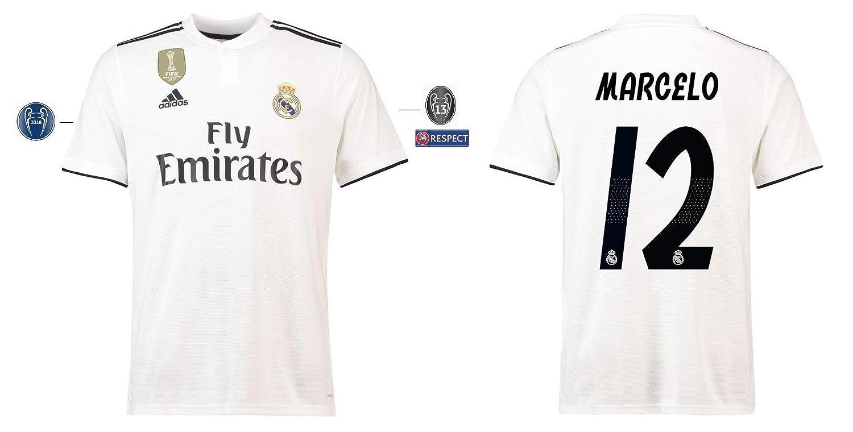 Real Madrid Trikot Kinder 2018-2019 Home UCL - Marcelo 12