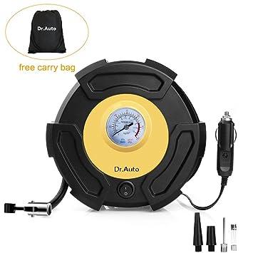 Amazon.es: TUREAL Compresor de Aire Automático, Compresor Aire Coche,Inflador de Neumáticos 12V/150PSI Presión Preestablecida de los Neumáticos, ...