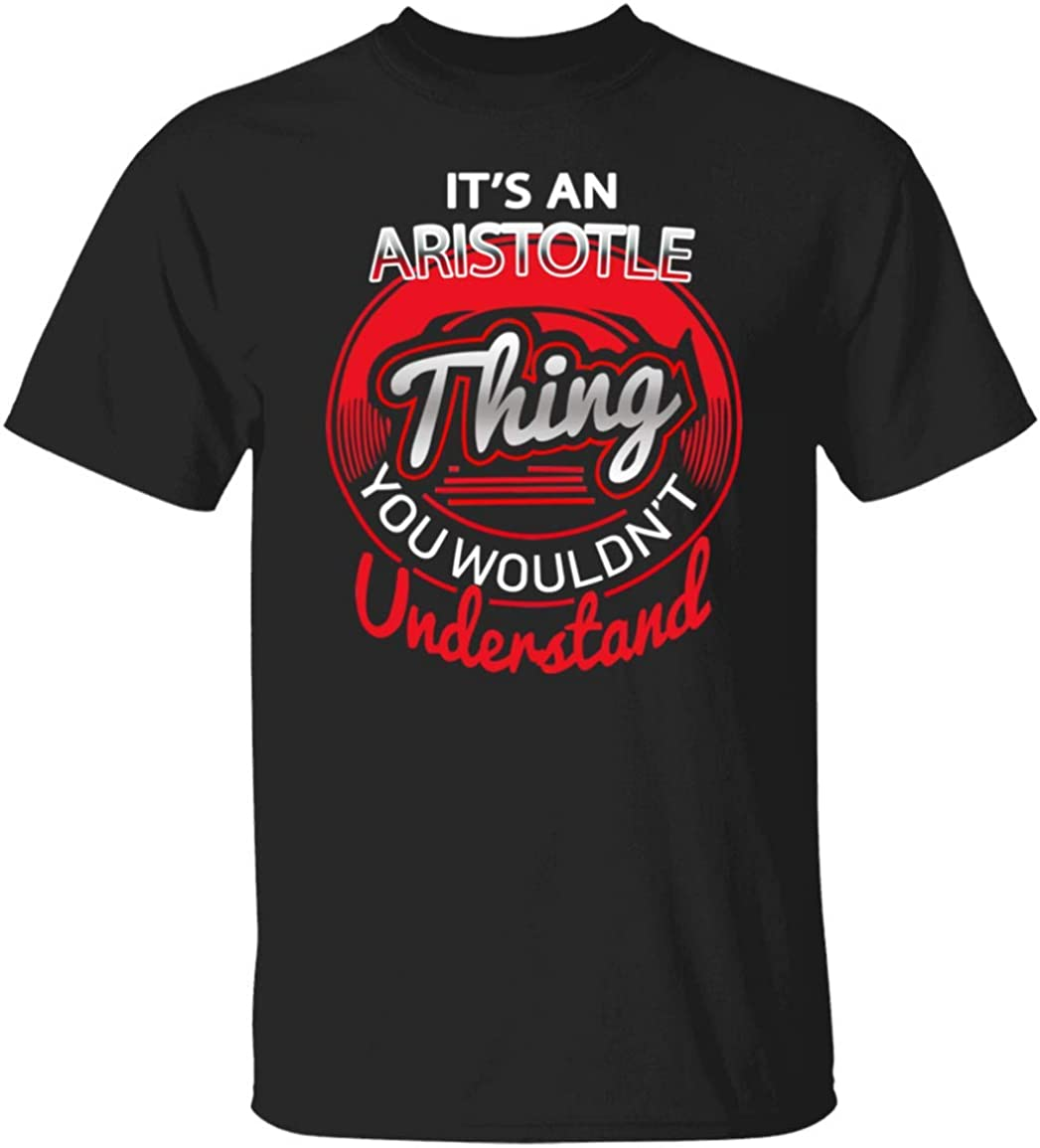 It's Aristotle Thing Cotton T Shirt Personalized Name Gift for Men Women