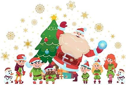 2020 Feliz Navidad. Evansamp Santa Claus Print Mobile - Adhesivo ...