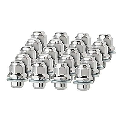 DPAccessories LCM3C6HCOCH04020 20 Chrome Lug Nuts for Toyota Lexus Scion Aluminum Wheels 90084-94001 99051.1 Wheel Lug Nut: Automotive
