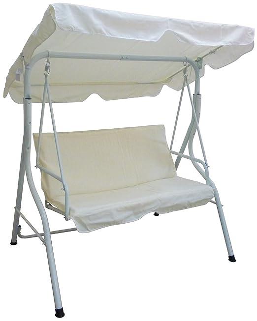 Balancín de jardín para silla y exterior de metal hierro con ...