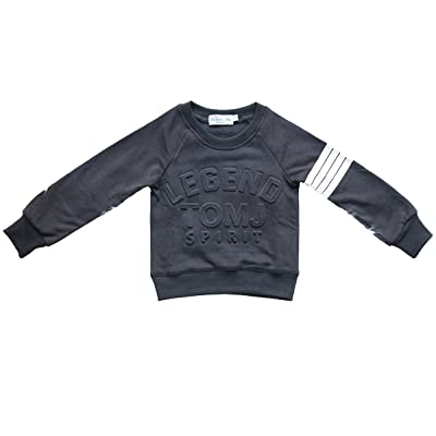 Blissfully Mine Boys Sweater Legend Tomj Spirit ; Gray/White BSP0076