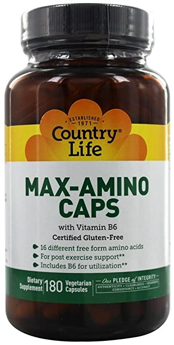 Max-Amino with Vitamin B-6