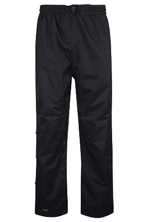 b46826d22548f Mountain Warehouse Pantalon Downpour de Pluie pour Hommes - Pantalon  imperméable, Coutures soudées, Jambe