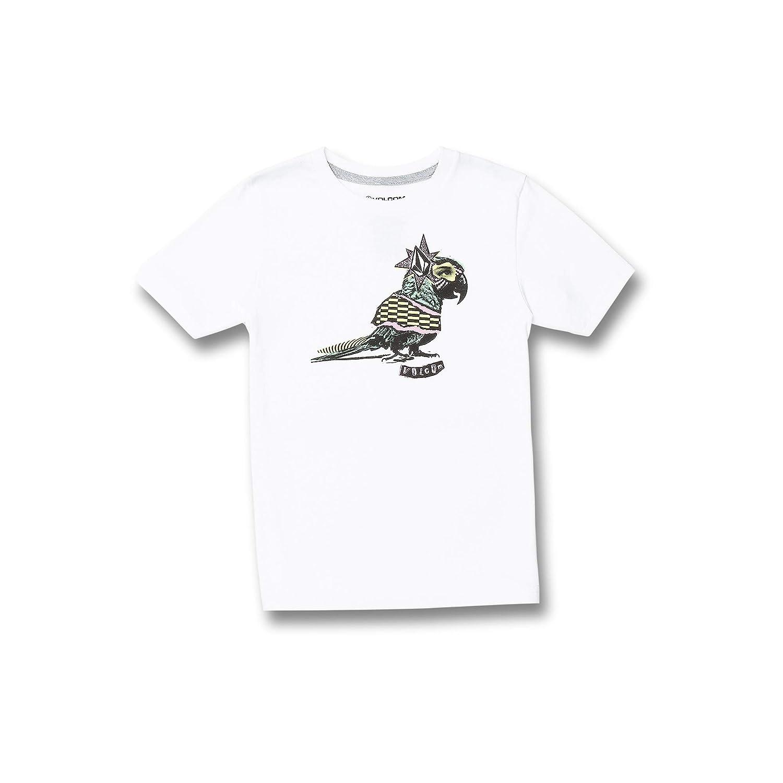 Volcom Little Boys Party Bird Basic Fit Short Sleeve Tee