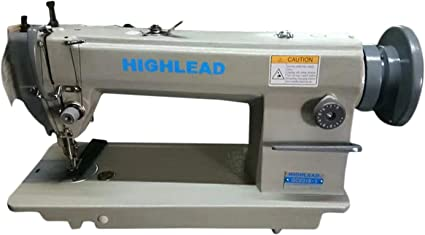 Heavy Duty Metal Industrial Sewing Machine Lockstitch DIY Crafts Single Needle
