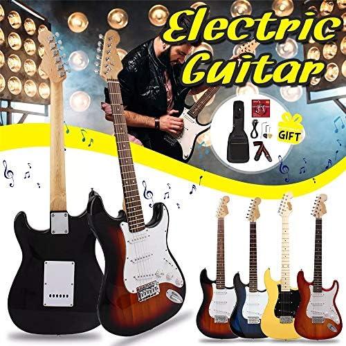 Zxllyntop Guitare Acoustique 38 Pouces 6 Cordes de Guitare