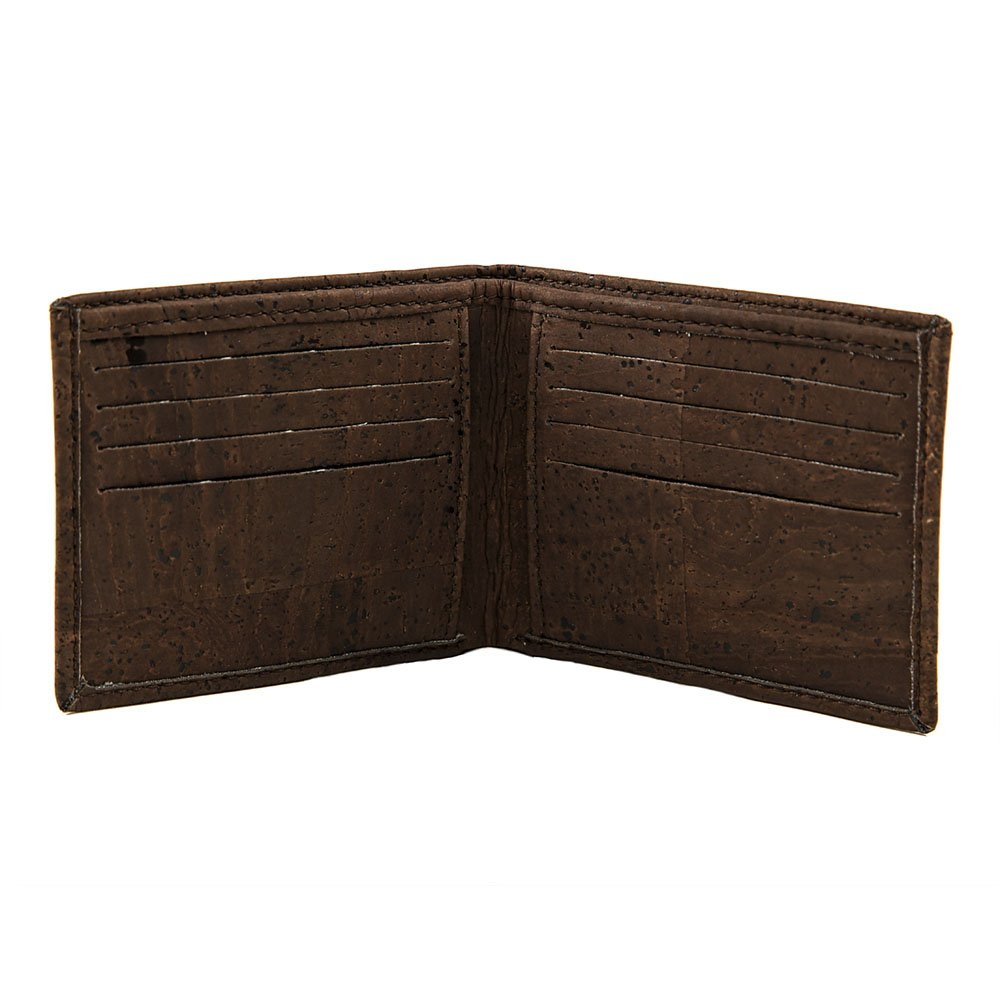 Cork Wallet Bi-fold Brown Vegan Gift Cork by Design 2371