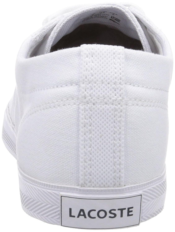 Lacoste Marcel Lcr2, Chaussons Sneaker Homme - Blanc (Wht/Wht 21G), 43 EU