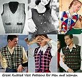 Grandes patrones de chaleco de punto para hombres y mujeres