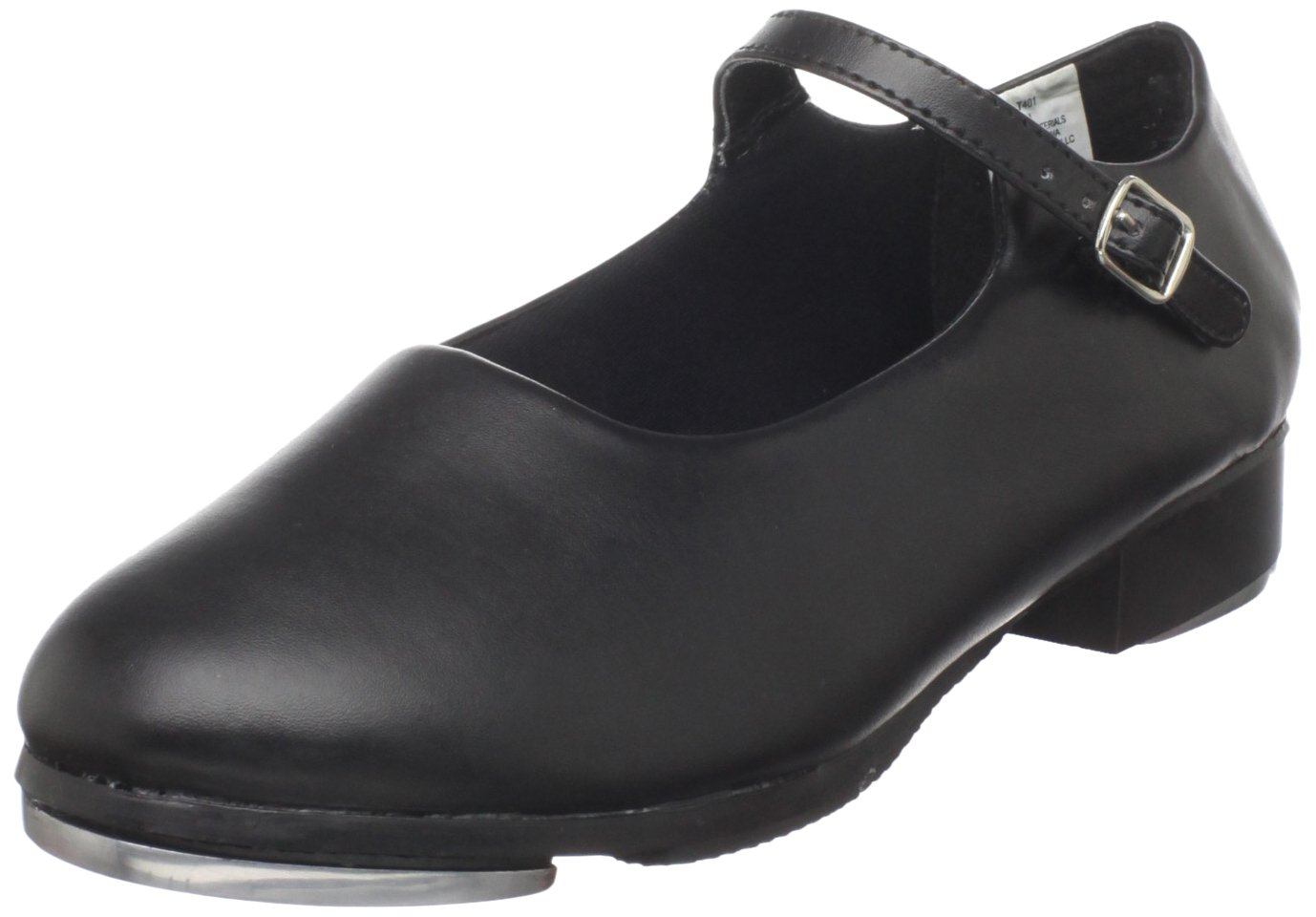 Dance Class Women's T401 Mary Jane Tap Shoe,Black,10 M US