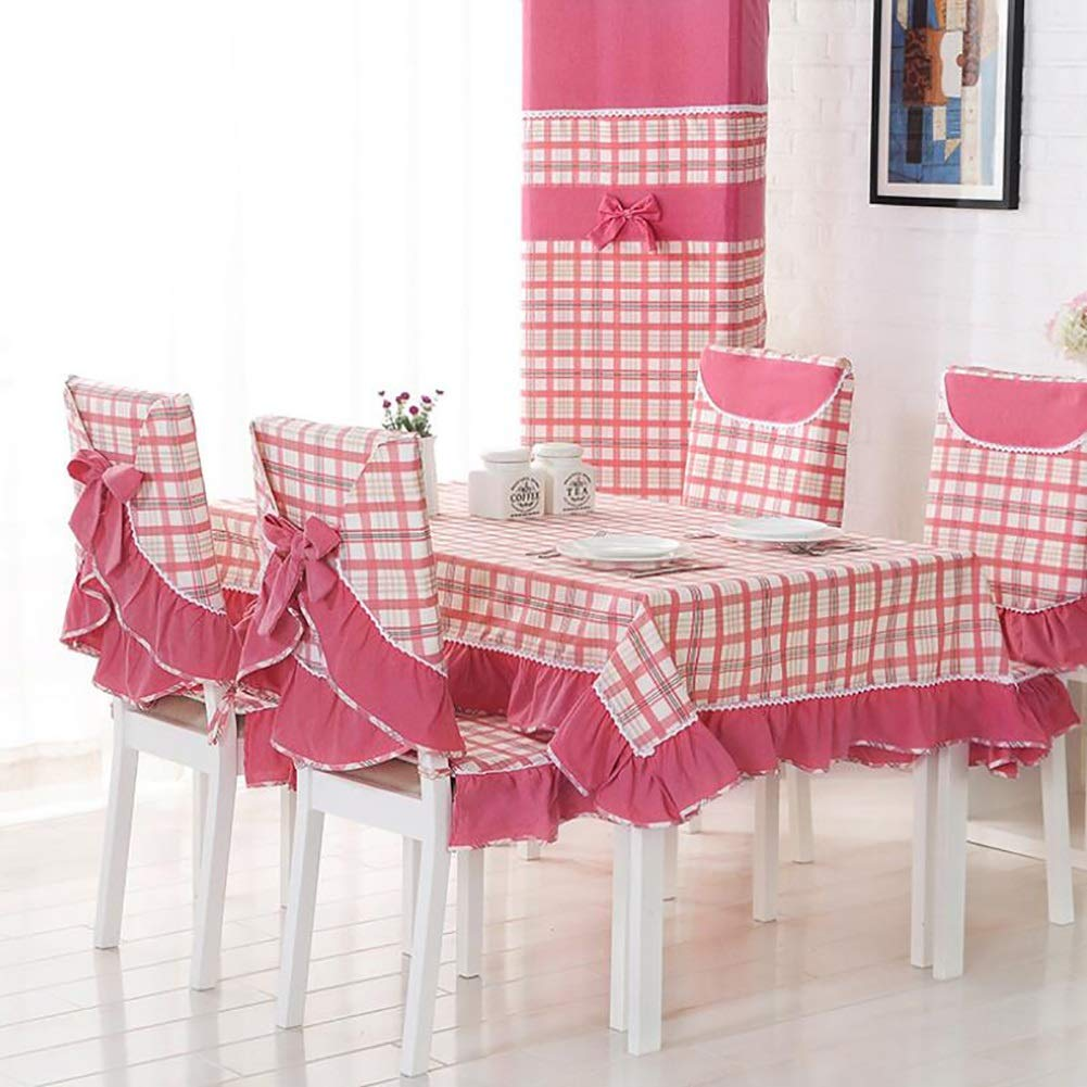 Sensational Amazon Com Yaxuan Tablecloth Set Dinning Table Cloth Chair Bralicious Painted Fabric Chair Ideas Braliciousco