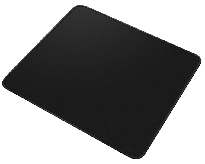 OXYURA Gaming Mouse Pad, Black   Set of 2