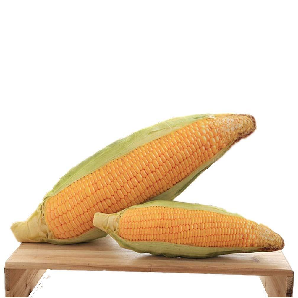 myseeクリエイティブホームとオフィスシミュレーションCornおもちゃThrow枕 Yellow B0719P7W7J Big Corn