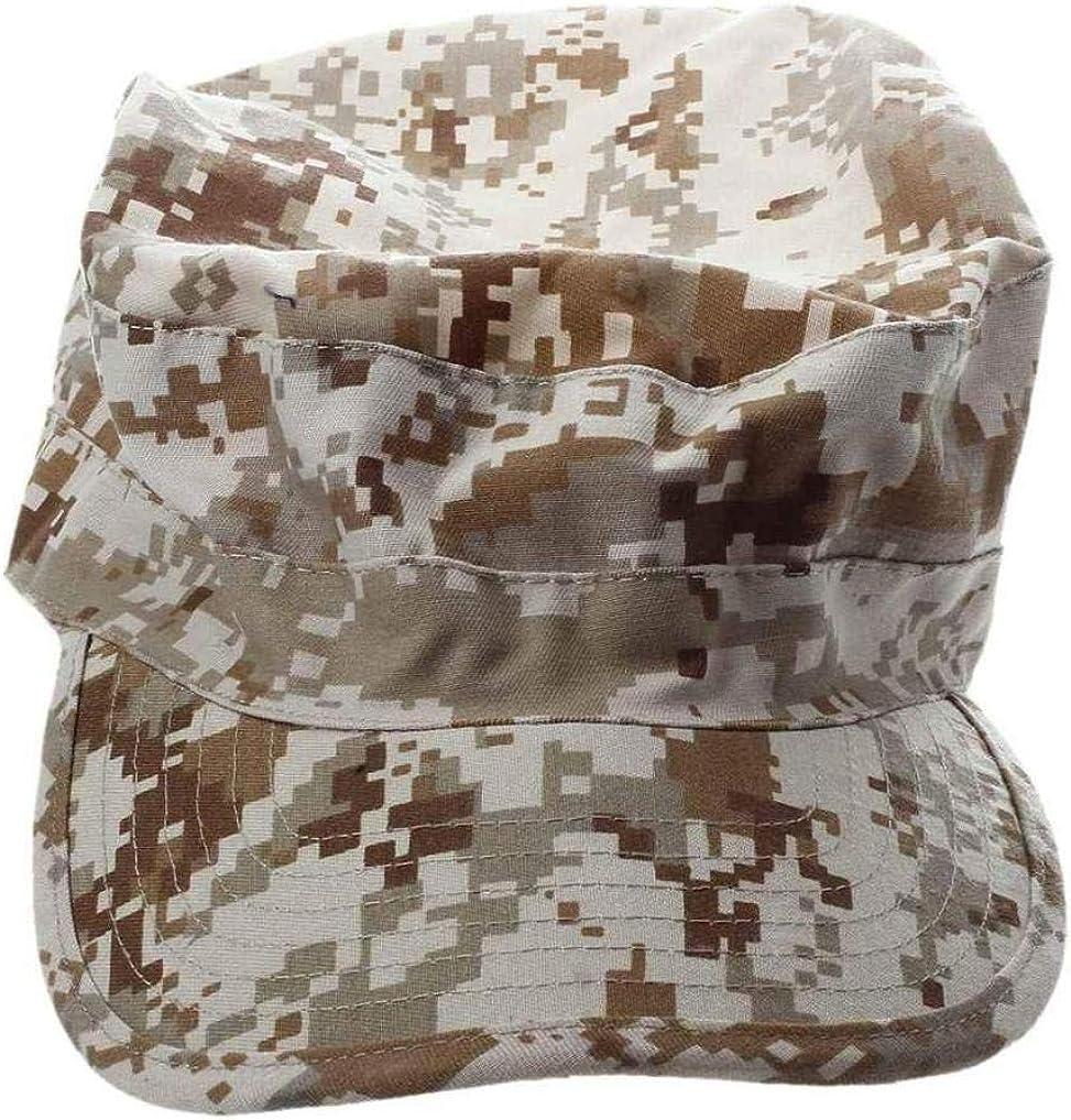 r Milit/ärarmee St/ädtische Sun Visor Cap Mens-dame Hat Camo Camouflage Jungle Baseball Desert Digital Unicoco Digital-w/üsten-tarnung Hut Flat Top Models Ein Kleid