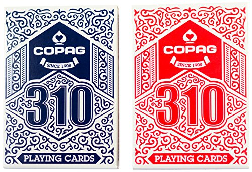 Copag 310 Playing Cards Double Deck for sale  Delivered anywhere in USA