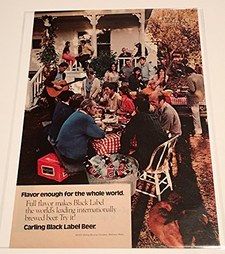 1972-carling-black-label-beer-magazine-print-advertisement