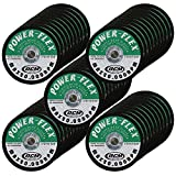50 Pack - Cut Off Wheels 3 Inch x 1/16 Inch x 3/8 Inch - For Cutting All Steel and Ferrous Metals.