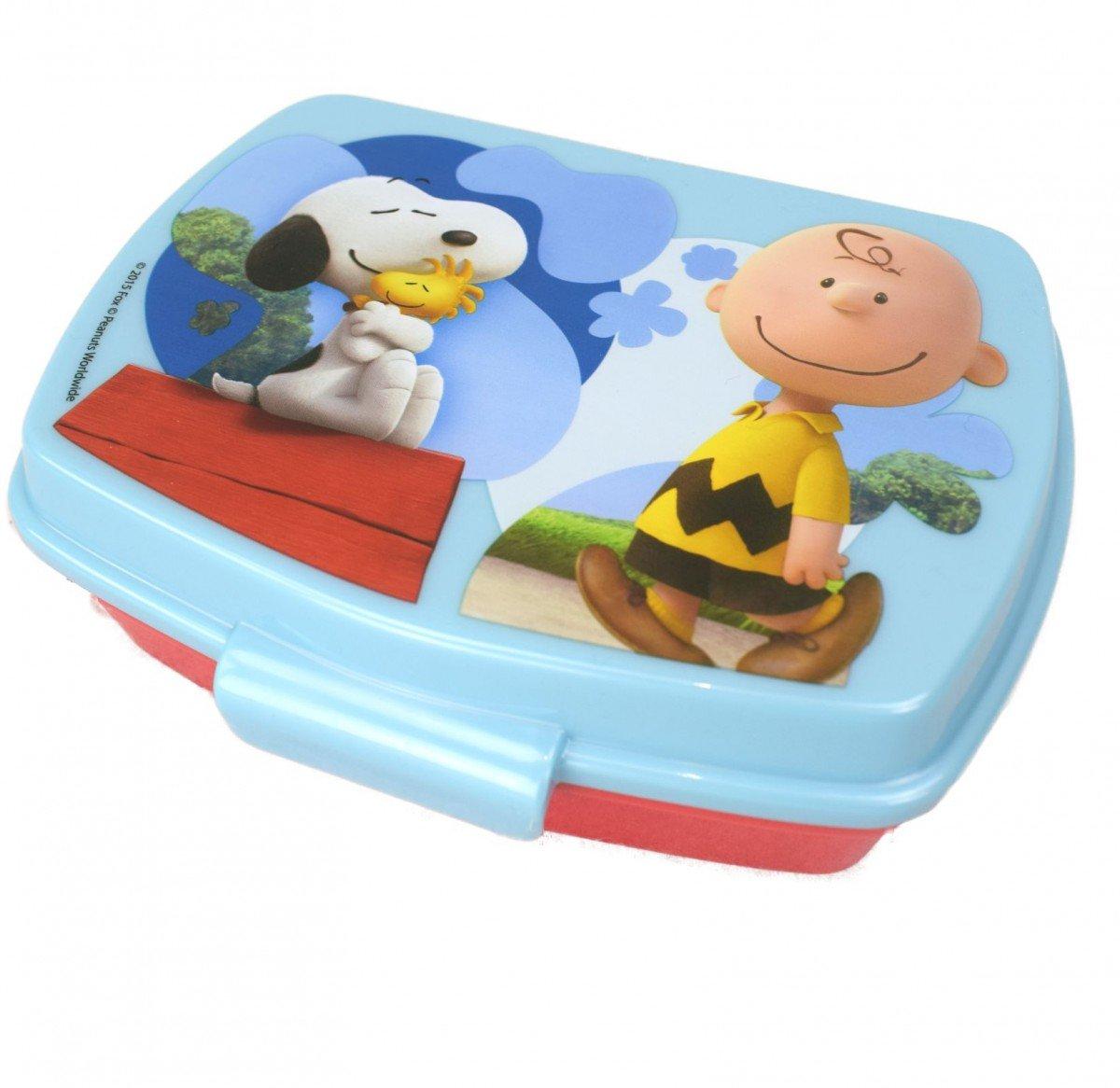 Offizielle Peanuts Snoopy und Charlie Brown Sandwich Lunch Box