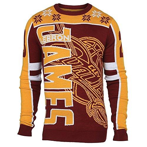 Cleveland Cavaliers LeBron James #23 Crewneck NBA Ugly Sweater S
